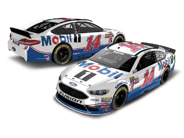clint bowyer 2017 mobil 1 diecast car