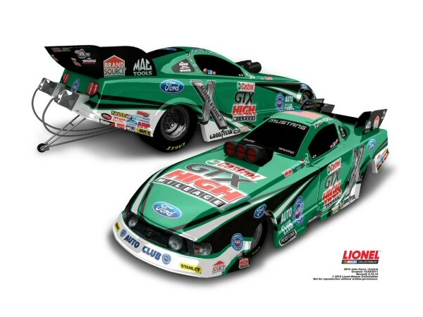 John Force 2012 Castrol Gtx High Mileage 1 64 Action Funny