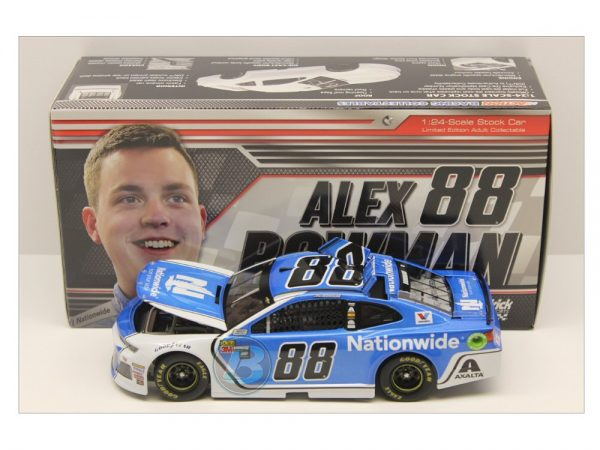 alex bowman 2018 nationwide 1/24 diecast