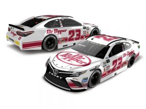 corey lajoie 2017 dr pepper darlington throwback diecast car
