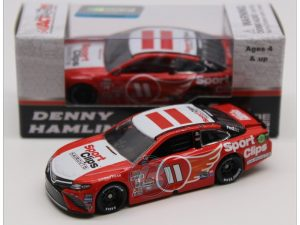 denny hamlin 2017 sports clips darlington throwback nascar diecast car