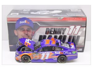 denny hamlin 2018 fedex office 1/24 diecast