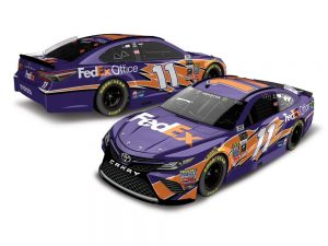 denny hamlin 2018 fedex office nascar diecast car