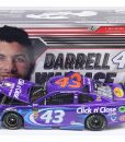darrell wallace jr 2018 click n close 1/24 diecast