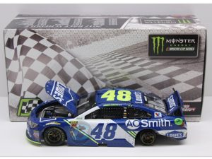 jimmie johnson 2017 spring Bristol raced version win diecast car