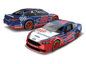 joey logano 2018 aaa insurance nascar diecast car