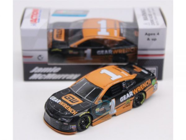 jamie mcmurray 2018 gearwrench 1/64 diecast