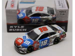 kyle busch 2018 mms red white blue nascar diecast car
