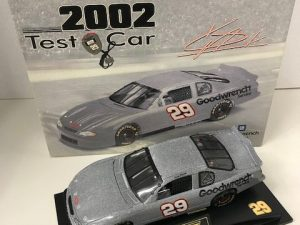 2001 kevin havick 1/24 gm goodwrench test car nascar diecast car-1