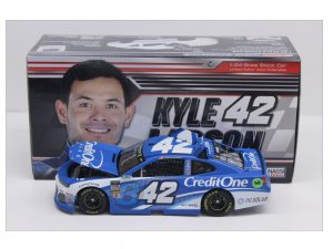 kyle larson 2018 credit one 1/24 diecast car