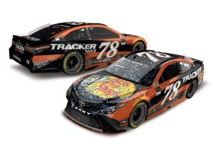 martin truex jr 2017 bass props las vegas raced version win diecast