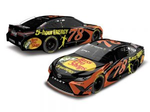 martin truex jr 2018 bass pro shops 5 hour energy nascar diecast car