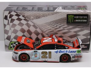 ryan blaney 2017 motorcraft pocono 1st win raced version win diecast car