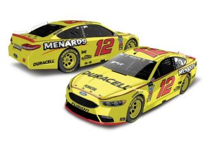 2018 ryan blaney duracell-menards nascar diexast car