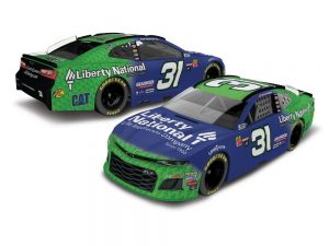 ryan newman 2018 liberty national nascar diecast car