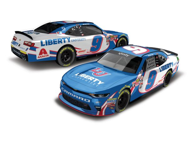 william byron 2017 liberty university darlington throwback