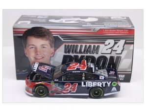 william byron 2018liberty university 1/24 diecast