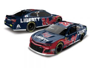 william byron 2018 liberty university nascar diecasr car