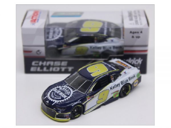 chase elliott kelley blue book 1/64 diecast