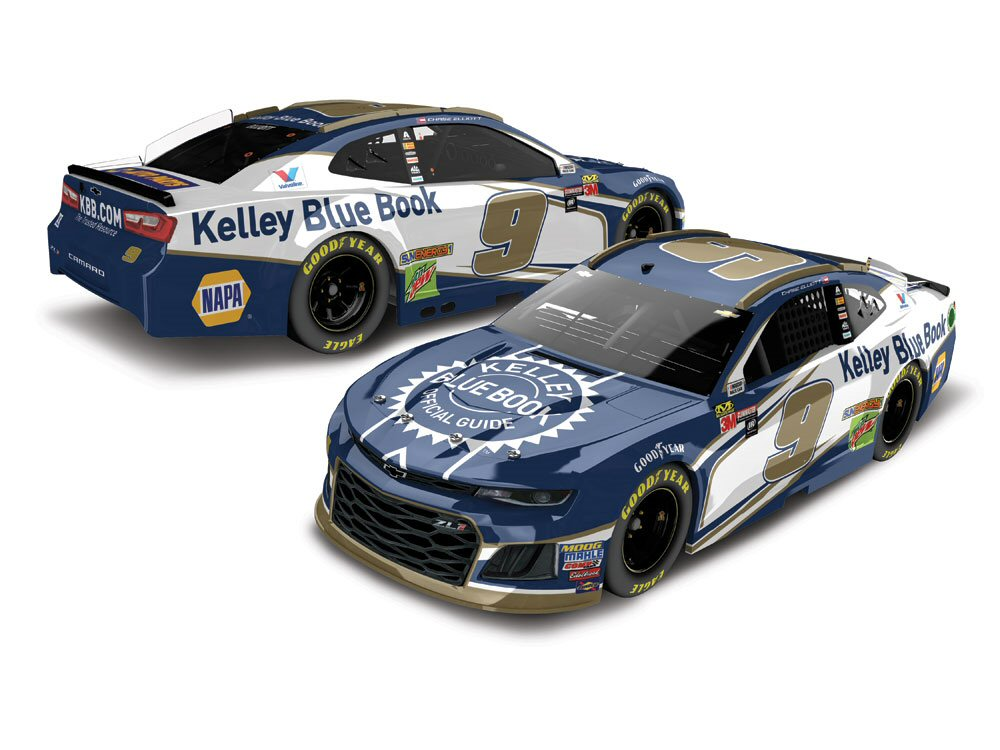 Chase Elliott 2018 Kelley Blue Book 1:24 Action Nascar Diecast Car ...