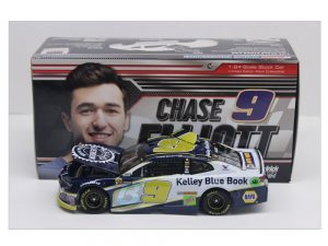 chase elliott 2018 kelly blue book 1/24 diecast