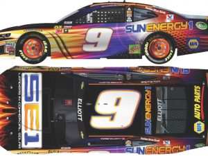 chase Elliot 2018 sunenergy1 diecast car
