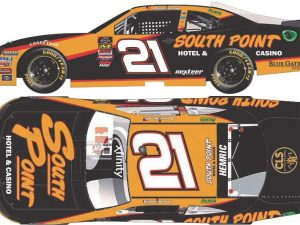 daniel hemric 2018 south point hotel and casino Nascar diecast car