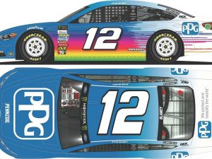 ryan blaney 2018 PPG paints diecast car