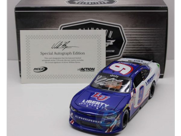 William Byron 2017 liberty university darlington diecast car