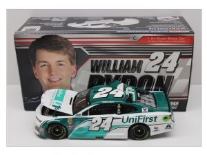william byron 2018 unifirst 1/24 diecast