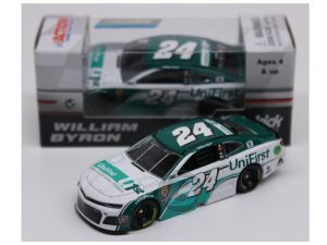 william byron 2018 unifirst 1/64 diecast