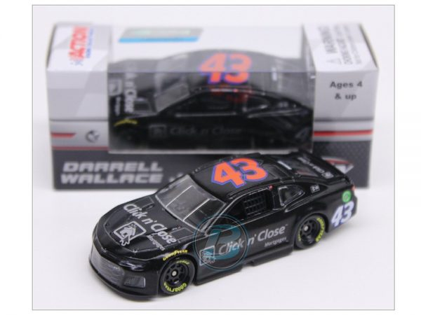 darrell wallace jr 2018 1/64 click n close test car diecast