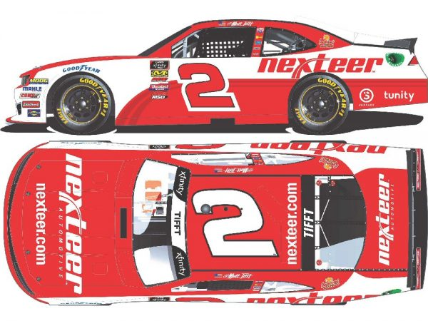 matt tifft 2018 nexteer diecast car