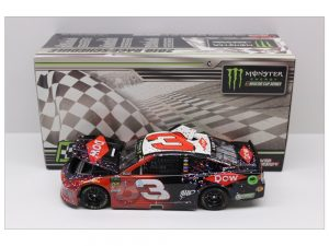 austin dillon 2018 daytona 500 raced version win 1/24 diecast
