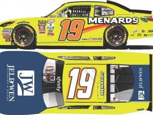 brandon jones 2018 menards diecast car