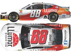 alex bowman 2018 lumar window film diecast car