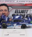 autographed elliott sadler 2018 one main financial 1/24diecast