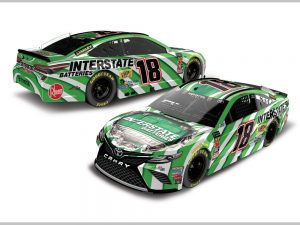 kyle busch 2018 interstate batteries diecast