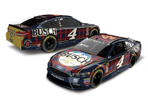kevin harvick 2018 busch flannel diiecast