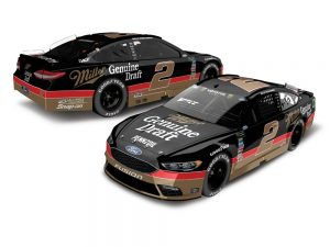 brad keselowski 2018 miller genuine draft darlington throwback diecast