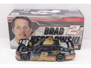 brad keselowski 2018 miller geniune draft darlington throwback 1/24 diecast