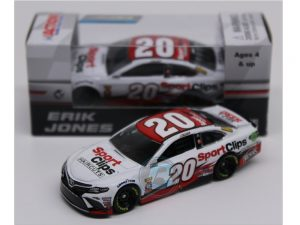 erik jones 2018 sports clips 1/64 diecast