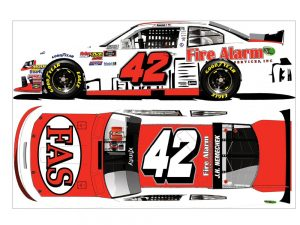 hunter nemechek 2018 fire alarm services diecast car