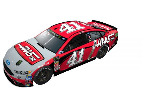 kurt busch 2018 haas automation darlington throwback diecast car