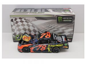martin truex jr 2018 bass pro shops auto club raced version win 1/24 diecast