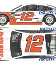 ryan blaney 2018 devilbliss carlisle diecasr car