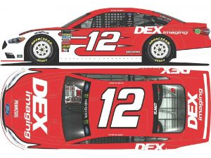 ryan blaney 2018 dex imaging diecast car