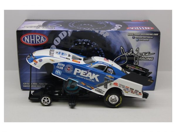 JOHN FORCE 2018 PEAK NHRA FUUNY CAR 1/24 DIECAST