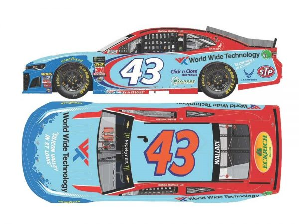 bubba wallace jr 2018 world wide technology diecaast car