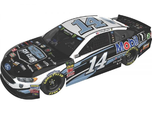 clint bowyer 2018 hass racing fan club/mobil-1 diecast